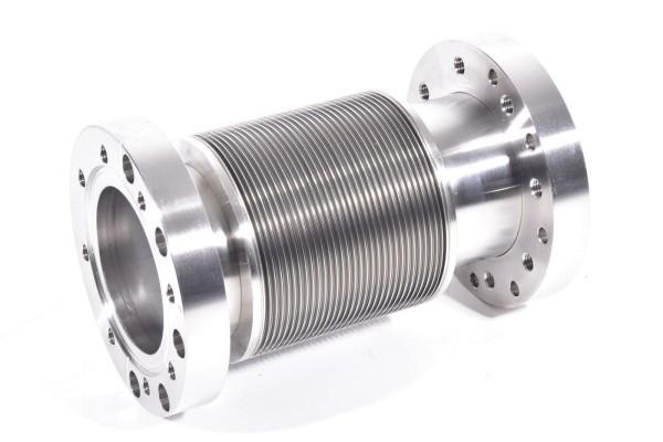 Flexrohr / Membranbalg Metall, L= 190mm, CF-Flansch, DN63