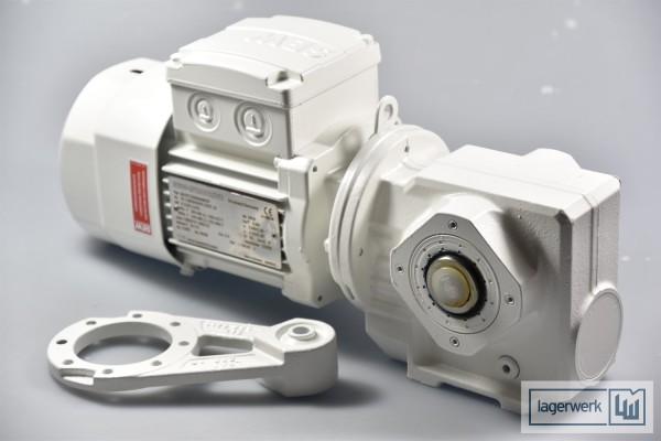 SEW SA37 T DR63S4 BR TF, Getriebemotor