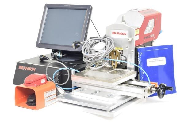 BRANSON MWX 100, Punktschweißmaschine mit universal Controller SBC