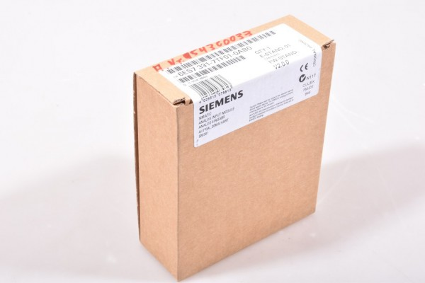 SIEMENS 6ES7331-7TF01-0AB0, SIMATIC DP HART Analogeingabe SM 331