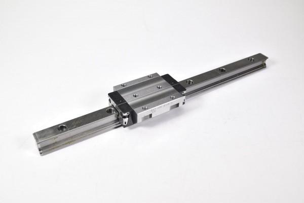 SKF LLRHC 20 LAB T1, LLRHR 20, Linearführung L=360mm mit Führungswagen