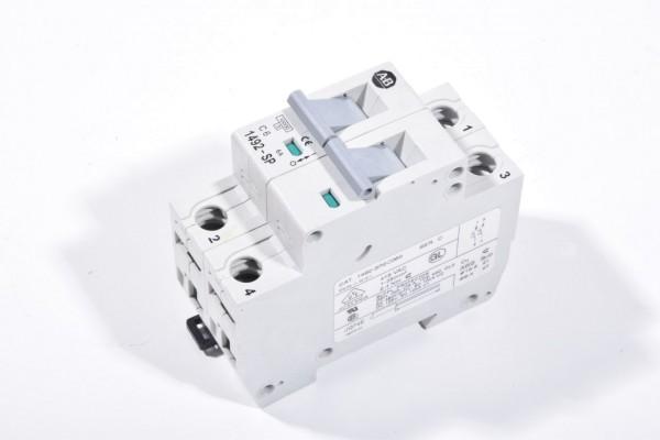 ALLEN BRADLEY 1492-SP2C060 / 1492SP2C060, Leitungsschutzschalter C6, 2 polig