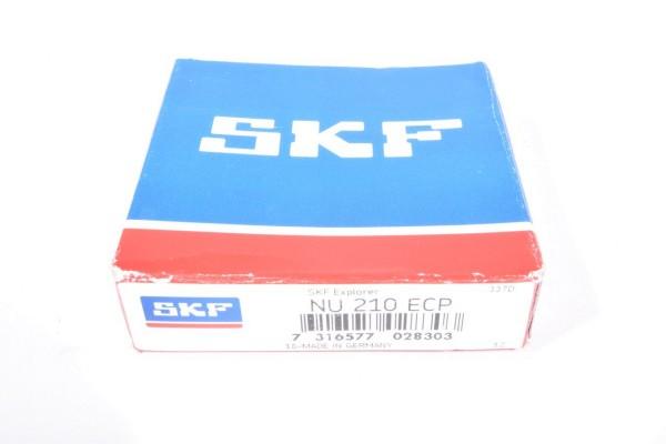 SKF NU 210 ECP / NU210ECP, Zylinderrollenlager - NEU