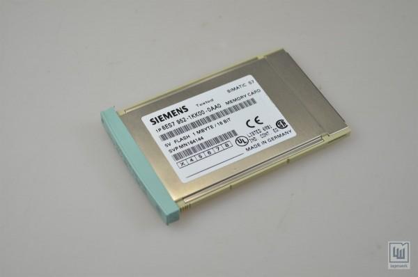 SIEMENS 6ES7 952-1KK00-0AA0 / 6ES7952-1KK00-0AA0, SIMATIC Memory Card 1MB