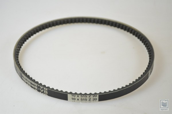 OPTIBELT 10 x 515 Z 20 / 10x515Z20, Zahnflachriemen / timing belt