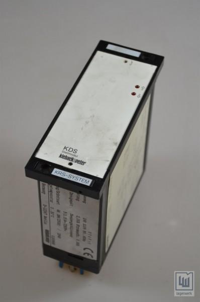 Kieback&Peter KRS System, KDS Stellmodul