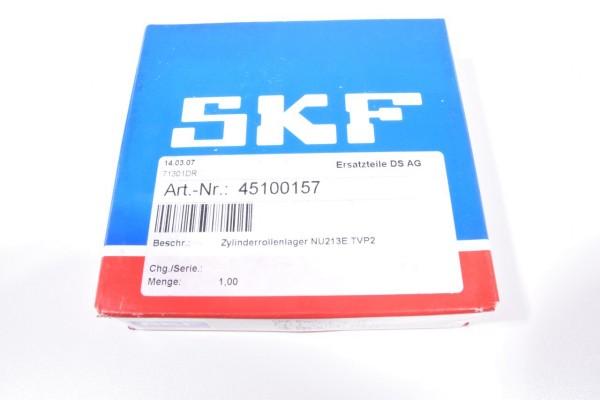 SKF NU 213 ECP / NU213ECP, Zylinderrollenlager NU213E.TVP2 - NEU