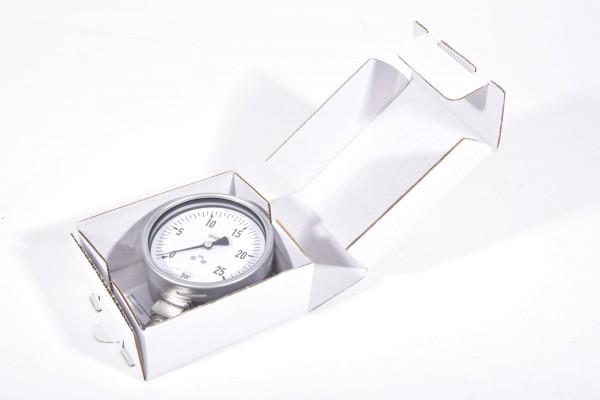 WIKA 232.50.100 / 232 50 100 / 23250100, Rohrfedermanometer 25 bar - NEU