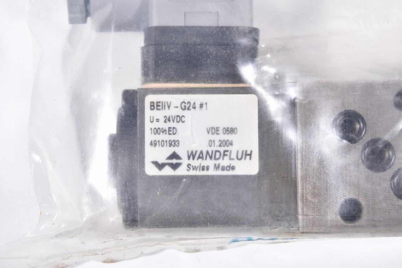 NEU BERVA4 Wandfluh 22911356 Rückschlagventil max 315bar