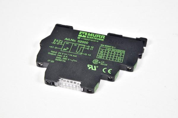 MURR 52000, MIRO6,224VDC-1U / MIRO 6,2 24VDC-1U, Ausgangsrelais