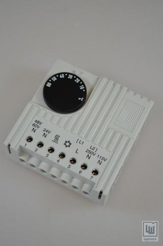 Rittal panneau int rieur temp rature r gulateur for Thermostat interieur