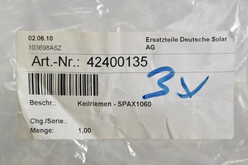 D/&D PowerDrive XPA2800 or SPAX2800 V Belt  13 x 2800mm  Vbelt